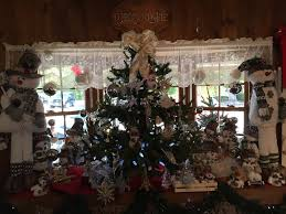 table christmas tree. image may contain: plant, table, christmas tree and indoor table
