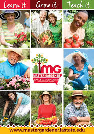 in 2018 iowa state extension and outreach master gardeners