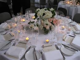 elegant table settings unique round setting ideas maisonmiel