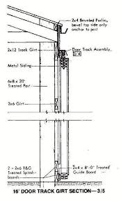 30x72 pole machine shed plans 17 door girt
