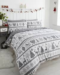 noel duvet cover sets grey