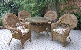 Endearing Wicker Patio Chairs with Amazing Wicker Patio Set Ideas