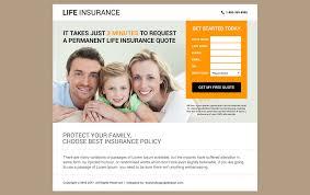 best life insurance website design 44billionlater