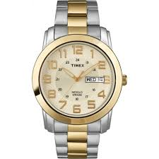 timex men s highland street watch two tone stainless steel timex men s highland street watch two tone stainless steel bracelet walmart com