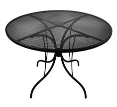 mesh patio table