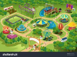 Amusement Park Design Game Pin By Rajji Prabhakar On Circus Theme Park Map Drawing