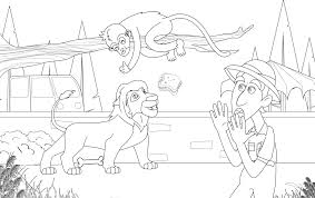 zookeeper coloring page. Beautiful Coloring Coloring Intended Zookeeper Page R