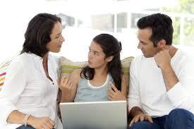 Computer talk teens use