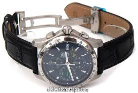 black crocodile watch strap erfly deployant clasp tag heuer link watches