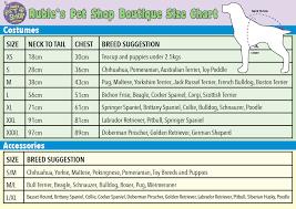 Ups Dog Costume Size Chart Rubies Dc Pet Dress Ups Superman Pet Costume