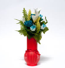 Flower Vase With Paper W6622 Red Paper Flower Vase D E Collections