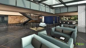 corporate office lobby interior design rendering office design program d53 program