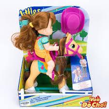 Búp Bê Baby alive Cưỡi Ngựa