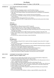 Java Resume Samples Velvet Jobs