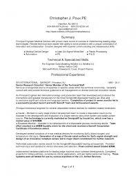 Medical Device Engineer Sample Resume Nardellidesign Com Objective