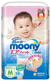 <b>Moony трусики Man</b> M (6-11 кг) 58 шт. — купить по выгодной цене ...