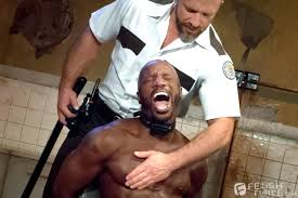 Fetish Force Race Cooper and Dirk Caber Black Guy Forced To Suck.