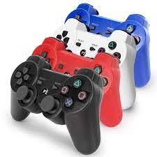 Bluetooth không dây Chơi Game Cho PS3 Bộ Điều Khiển Máy PlayStation 3 Dual  Chống sốc Nút chơi game Joystick chơi stationmanette ps3 Game tay  cầm|Gamepads