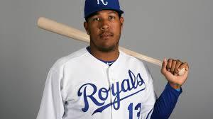 Royals catcher Salvador Perez tests ...