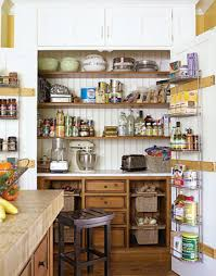 Amazing kitchen pantry cabinet that looks like it's built-in