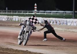 american flat track racing in oklahoma motorcycle com