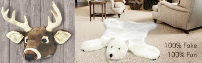 plush rugs trophies