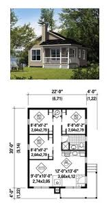 Tiny House Plan 52785 | Total Living Area: 660 Sq. Ft., 3 Bedrooms And 1  Bathroom. #tinyhome