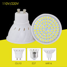 Baselight Lighting Us 1 18 45 Off 220v 110v Led Bulb Lamp Gu10 E27 Mr16 Base Light Power 8w 6w 4w High Bright Spotlight Focos Bombillas Led For A Home Lighting In