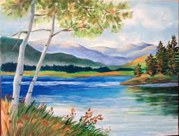 beautiful drawing painting on nature scene best 25 scenery