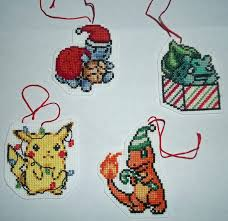 Pokemon Christmas Ornament Cross-Stitch by Isobel-Theroux on ...