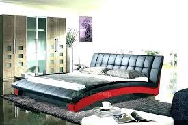 white king size platform bed wave king size modern design black leather platform bed with tufted