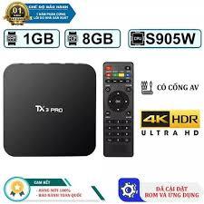 TIVI BOX MXQ PRO 4K TX3 RAM 1GB MXQ Pro 4K - Vua phân khúc giá rẻ - Rom 8GB  Ram 1GB Android 7.1Tivi box MXQ PRO tivi box 1GB RAM 8GB