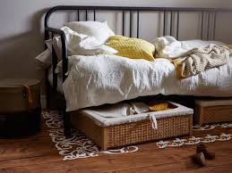 ... Underbed Storage & Underbed Storage Boxes | Ikea Inside Wicker Under  Bed Storage ...
