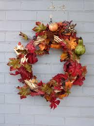 Fall Door Wreath | Deco Mesh Fall Wreaths | Autumn Wreaths