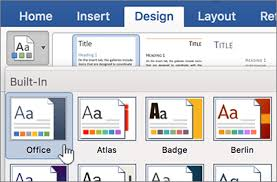 Change Or Remove A Theme In Office For Mac Office Support