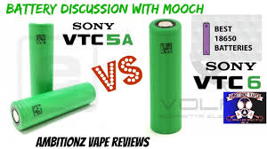 Battery Talk With Mooch Sony Vtc5a Vs Vtc6 What You Need To Know About Batteries