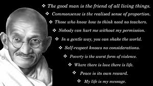 Famous Gandhi Quotes Classy Top 48 Famous Quotes Of Mahatma Gandhi Top Ten