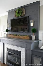 decorating ideas for fireplace mantels with tv above mantel i37 decorating