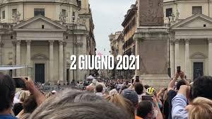 Frecce Tricolori Roma 2 Giugno 2021 - YouTube