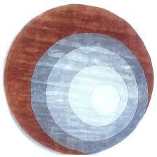 modern round rugs red color area rug bosli club within prepare 10