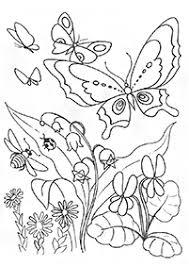 花 無料で印刷できる塗り絵