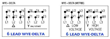 wye delta dealers industrial equipment blog Wye Delta Connection Diagram three phase 6 lead motor delta to wye connection diagram