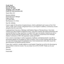 Rn Resume Cover Letter Sample Cover Letter For Nursing Resume shalomhouseus 48