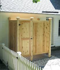 outdoor shower enclosure outdoor shower kit cedar outdoor shower enclosure camping eee