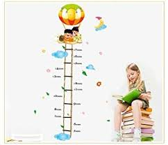 Amazon Height Chart Amazon Com New Design Scaling Ladder Height Chart 50cm