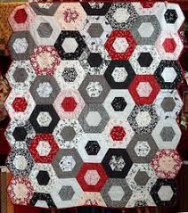 Robert Kaufman Block of the Month | Quilting Inspirations on ... & Fiddlesticks - Spring Class Schedule · Hexagon QuiltHexagonsClass ScheduleWhite  QuiltsBlack White Adamdwight.com
