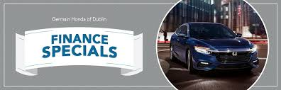 our honda finance specials in dublin