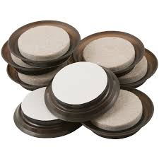 Shop Waxman 8 Pack 1 5 in Round Felt Pad at Lowes