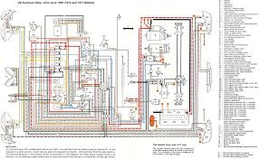 thesamba com karmann ghia wiring diagrams 1971 usa