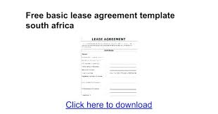 Simple Rental Agreement Template Simple Rental Agreement Template South Africa Parsyssante
